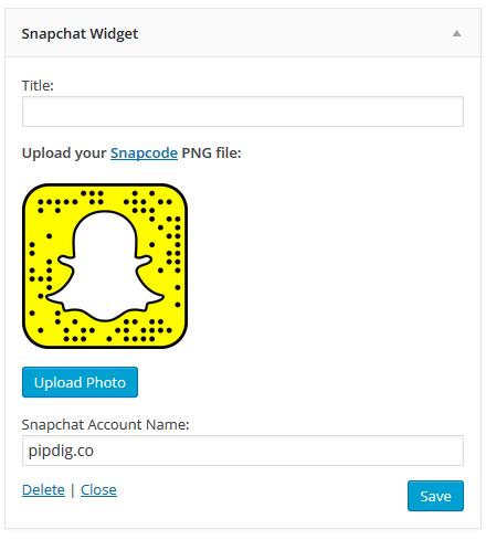 snapchat-widget