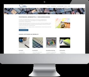Website Relaunch Guelzow Printmedien durch Creating Digital Hamburg