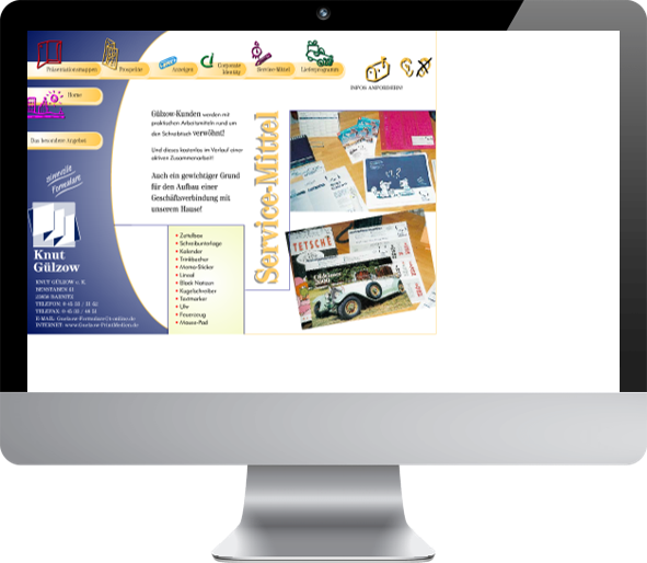 Website Relaunch Guelzow Printmedien