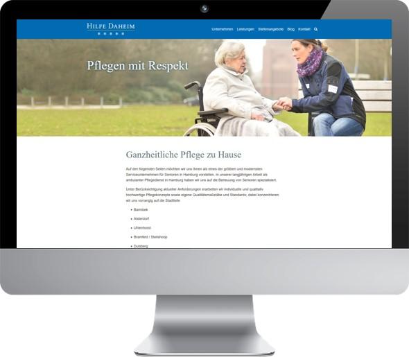 Website Hilfe Daheim