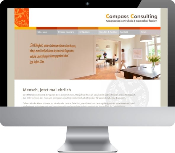 WordPress Relaunch Compass Consulting