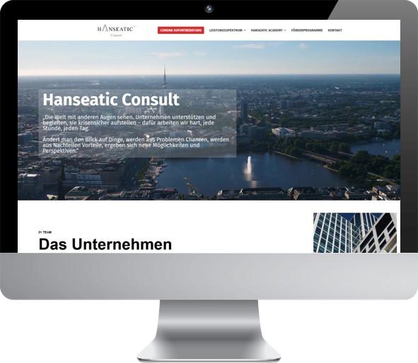 Website Hanseatic Consult
