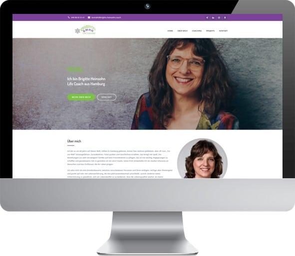 Website Brigitte Heinsohn